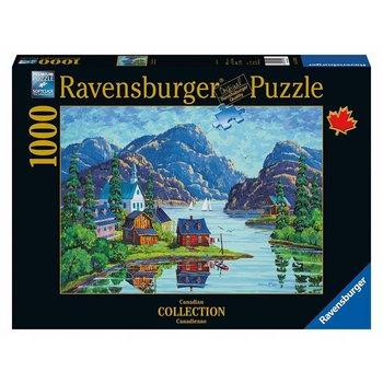 Ravensburger Ravensburger Puzzle 1000pc Canadian The Saguenay Fjord