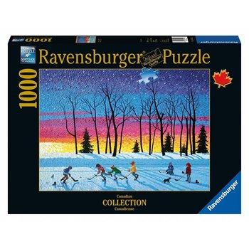 Ravensburger Puzzle 1000pc Canadian Sundown & Stars
