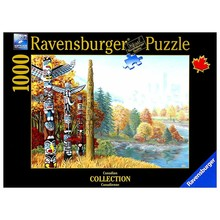 Ravensburger Ravensburger Puzzle 1000pc Canadian When 2 Worlds Collide