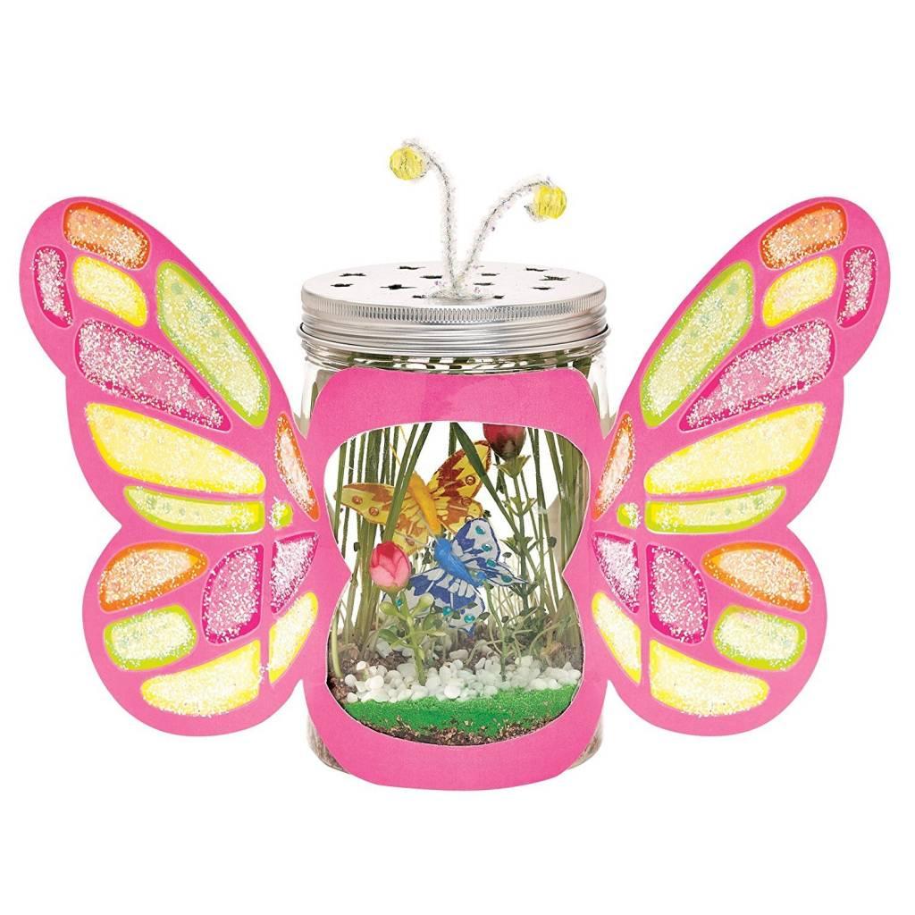 creativity for kids sparkle u0026 grow butterfly terrarium minds