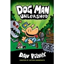 Scholastic Book Dog Man #2 Pilkey Unleashed