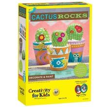 Creativity for Kids Creativity Craft Cactus Rocks