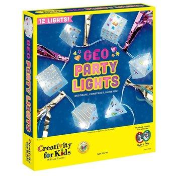 Creativity for Kids Creativity Craft Geo Party Lights