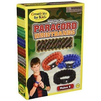 Creativity for Kids Creativity Craft Paracord Wristbands Glow