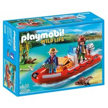 Playmobil Playmobil Life Boat with Explorers