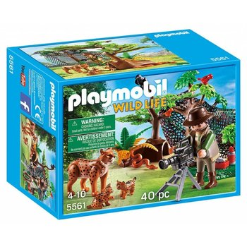 Playmobil Playmobil Lynx Family with Cameraman