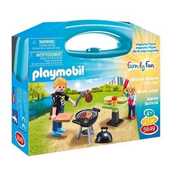 Playmobil Playmobil Carry Case: Backyard BBQ
