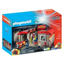 Playmobil Playmobil Take Along Fire Station