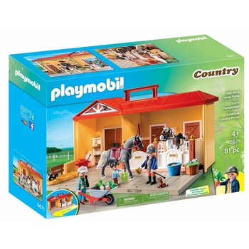Playmobil Playmobil Take Along Horse Stable