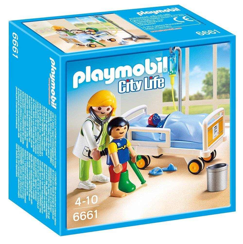 Playmobil doctor with child minds alive toys crafts books for Cuisine playmobil