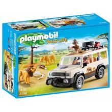 Playmobil Playmobil Africa: Safari Truck with Lions