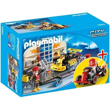 Playmobil Playmobil Go-Kart Garage