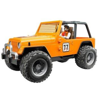 Bruder Bruder Jeep Racer Orange