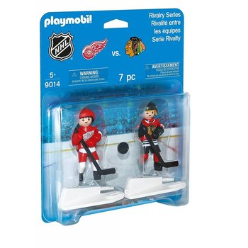 Playmobil Playmobil NHL Rivalry Series Chicago Vs Detroit Red Wings