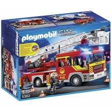 Playmobil Playmobil Fire Truck Ladder Unit with Lights & Sounds