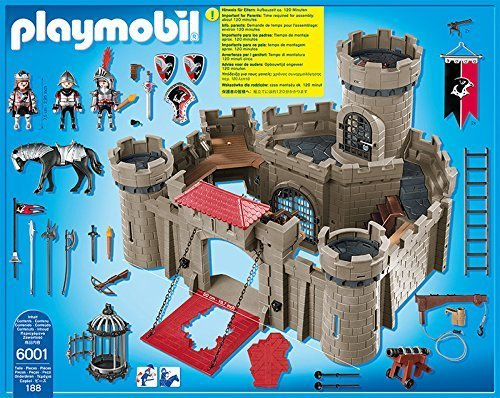 Playmobil hawk knights castle minds alive toys crafts books for Piscine playmobil