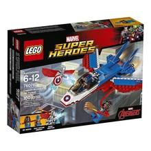 Lego Lego Super Heroes Captain America Jet Pursuit