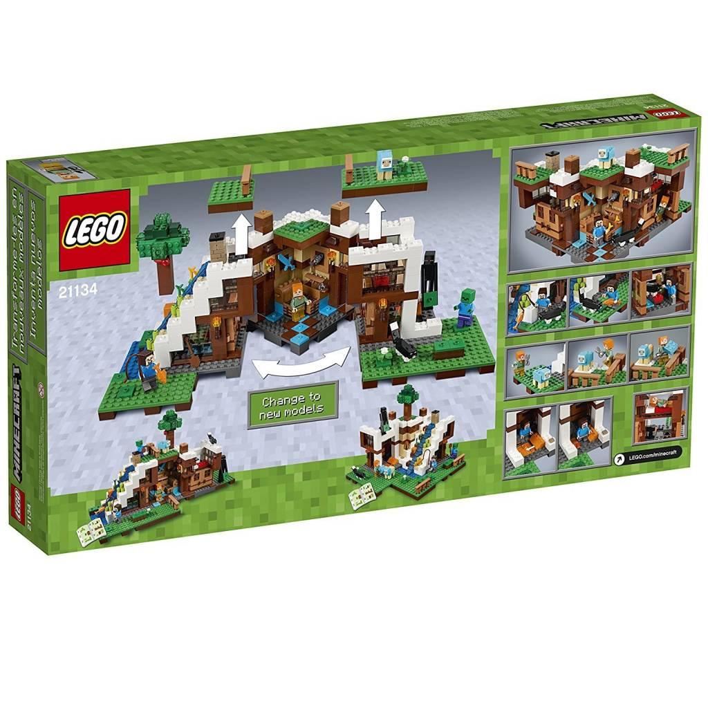21125 Lego Minecraft The Jungle Tree House