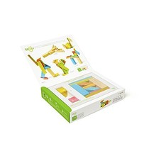 Tegu Tegu Magnetic Wooden Block 14pc Tints
