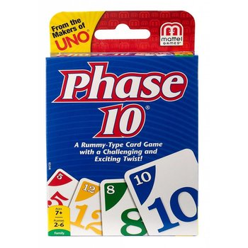 Fundex Card Game Phase 10