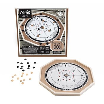 Rustik Crokinole Game 2 in 1