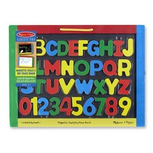 Melissa & Doug Melissa & Doug Learning Magnetic Chalk Board/Dry Erase