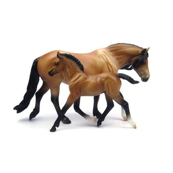 Breyer Breyer Classic Bay Dartmoor Pony & Light Bay Foal