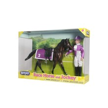 Breyer Breyer Classic Race Horse & Jockey Doll disc