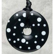 Teething Bling Teething Bling Pendant Polka Dot