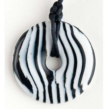 Teething Bling Teething Bling Pendant Zebra