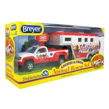Breyer Breyer Stablemates Animal Rescue Truck & Trailer