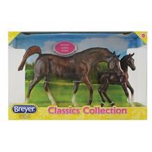 Breyer Breyer Classic Horse & Foal Chestnut Arabian