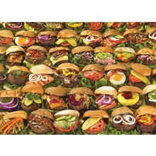 Cobble Hill Puzzles Cobble Hill Puzzle 1000pc Burgers