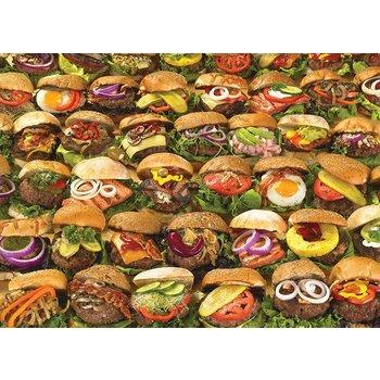 Cobble Hill Puzzles Cobble Hill Puzzle 1000pc Burgers