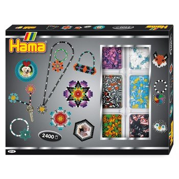 Hama Hama Midi Striped Beads Activity Box
