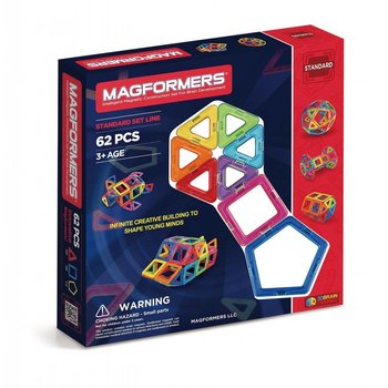 Magformers Magformers Magnetic Construction  62pc