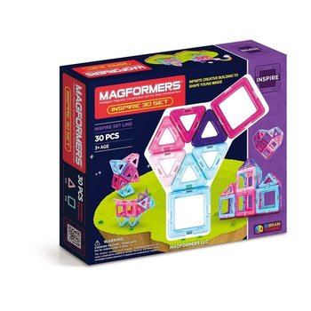Magformers Magformers Magnetic Construction Set Inspire 30pcs
