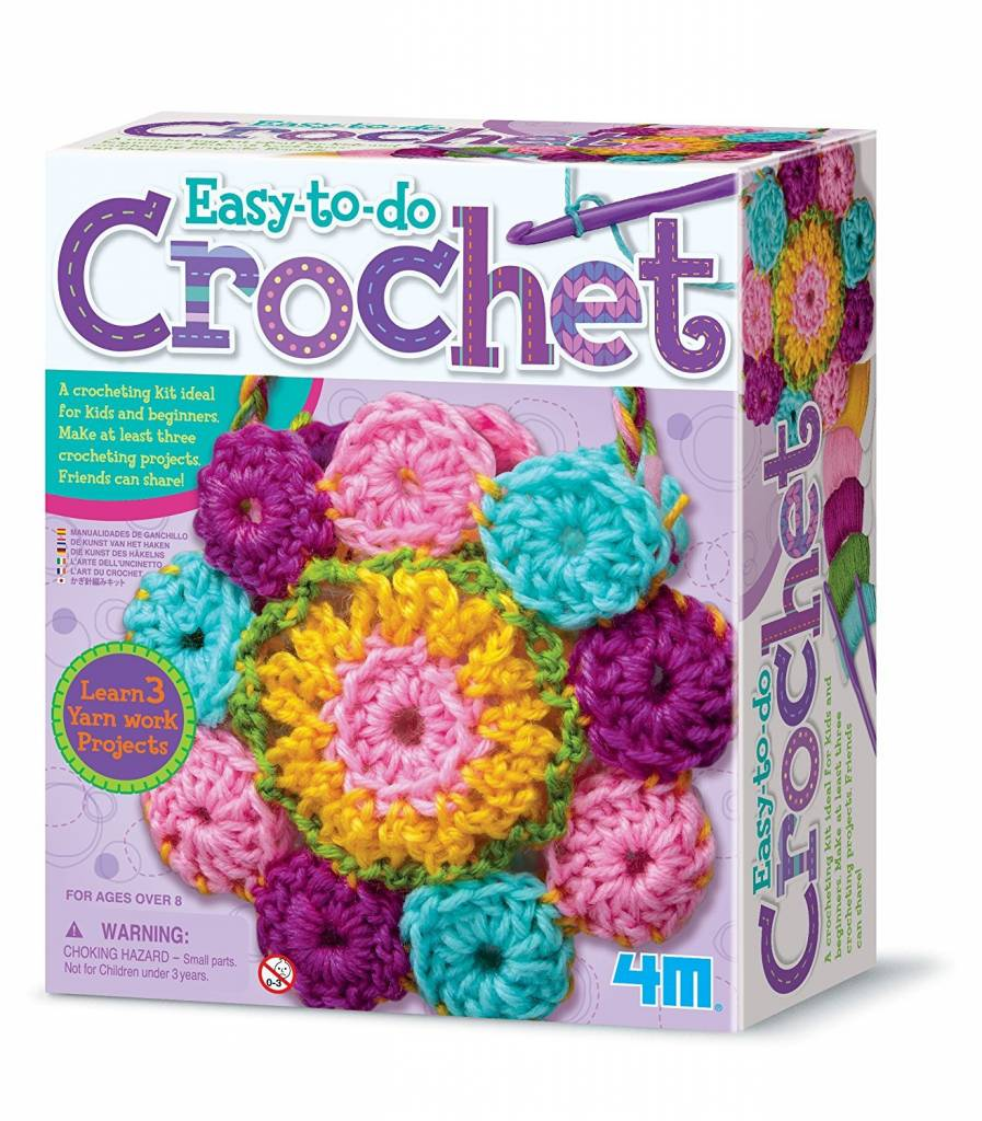 4m craft crochet art minds alive toys crafts books