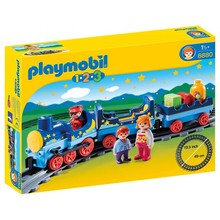 Playmobil Playmobil 123 Night Train with Track