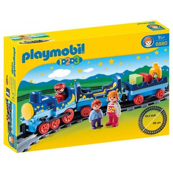 Playmobil Playmobil 123 Night Train with Track
