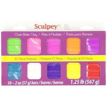 Sculpey Polyform Sculpey III Multipack - Bright Ideas