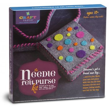 Craft-tastic Needle Felt Purse