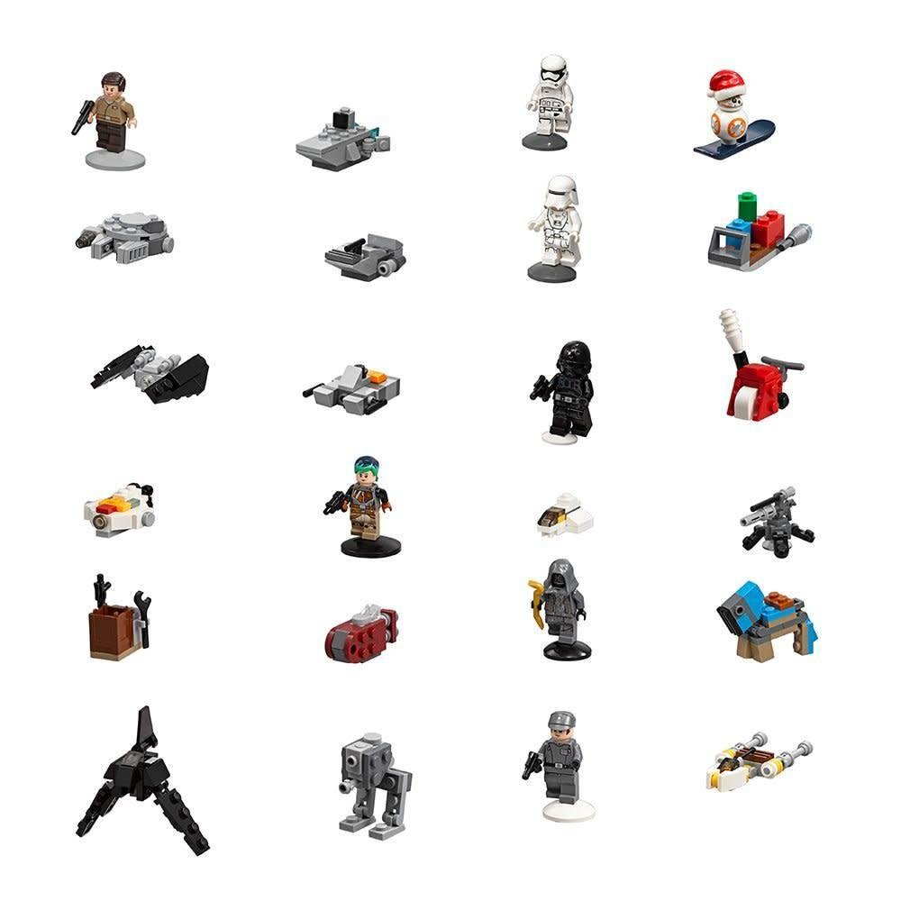 Lego Lego Advent Calendar Star Wars 2017 - Minds Alive ...