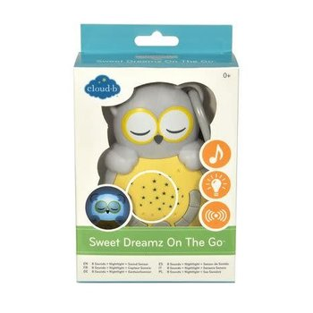 Cloud B Cloud B Sweet Dreamz on the Go Owl Grey