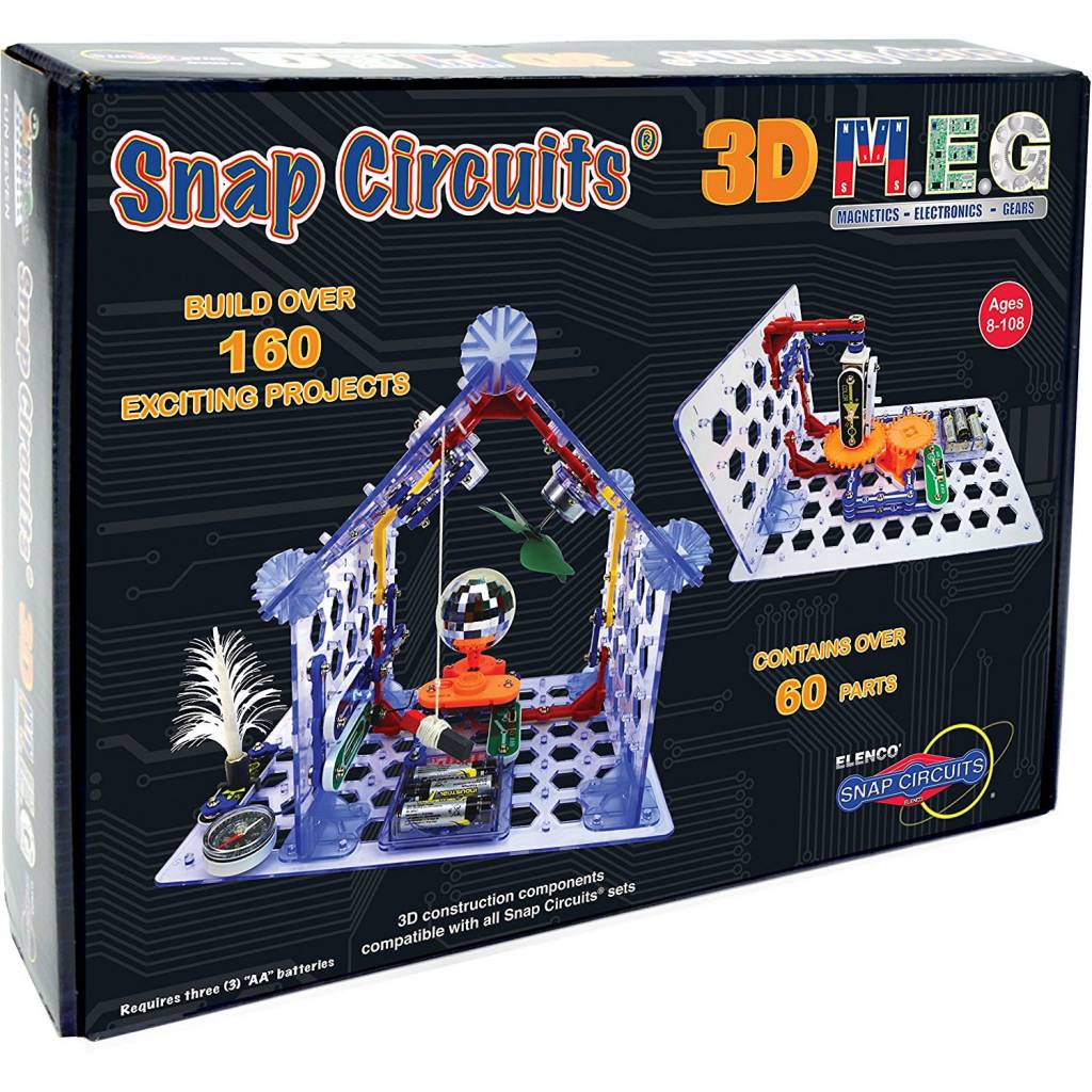 Elenco Snap Circuits 3d Meg Minds Alive Toys Crafts Books Circuit For Kids