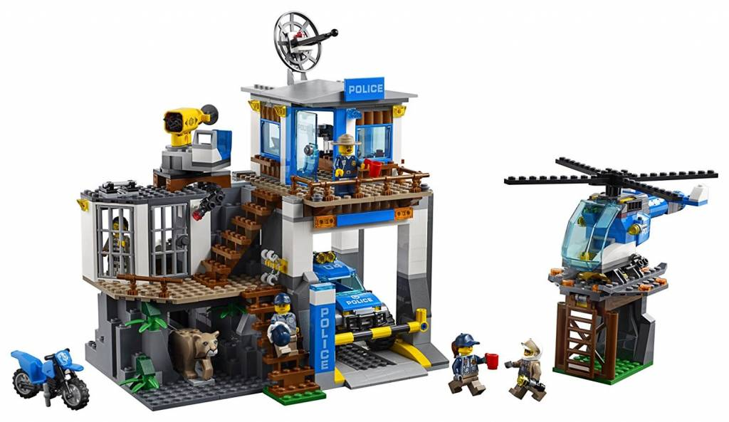 Lego City Mountain Police Headquarters - Minds Alive! Toys Crafts Books