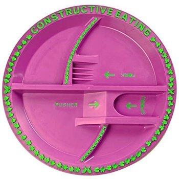 Constructive Eating Garden Fairy Plate