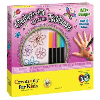 Creativity for Kids Creativity for Kids Color-in Glitter Tattoos