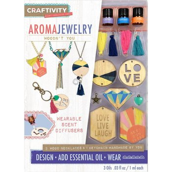 Creativity for Kids Craftivity  Aroma Jewelry Woodn't You