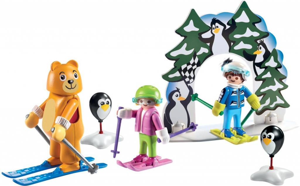 playmobil winter sports ski lesson - Playmobil Ski